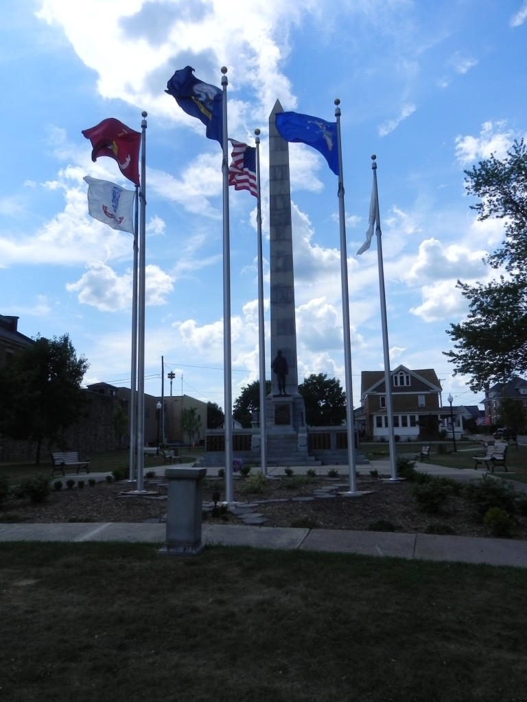 Ebensburg Veterans Monument - Overview