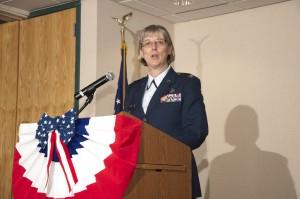 Armed Forces Dinner 2012 - Colonel Karen Esais