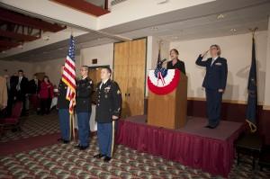Armed Forces Dinner 2012 - National Anthem