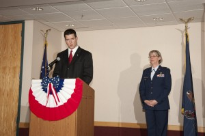 Armed Forces Dinner 2012 - POW/MIA Table Ceremony