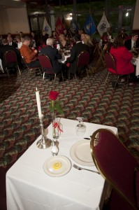Armed Forces Dinner 2012 - POW/MIA Table