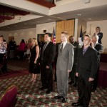 Armed Forces Dinner 2012 - Standing Ovation for Enlistees