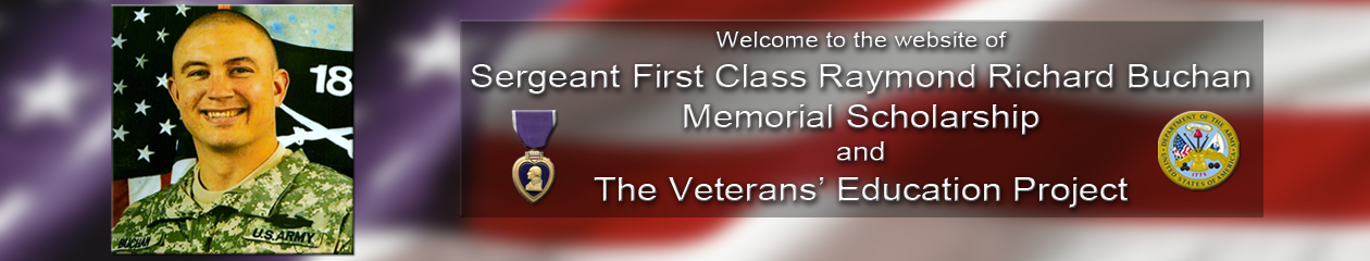 Buchan Memorial Scholarship & Veteran's Education Project