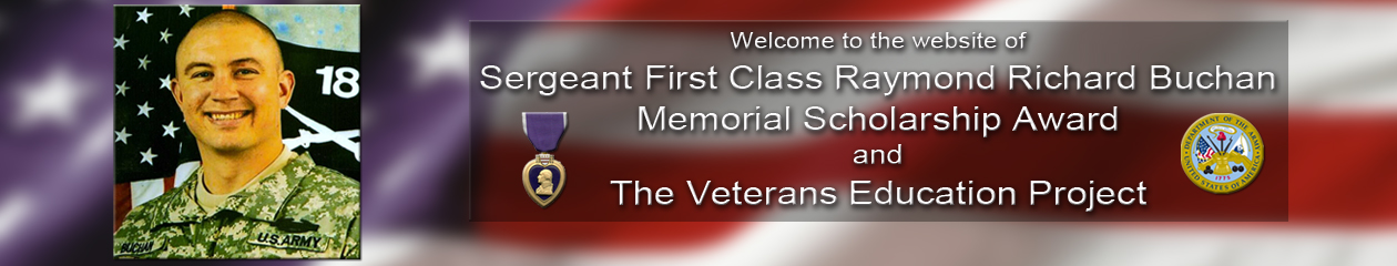 Buchan Memorial Scholarship & Veterans Education Project